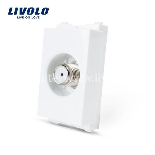 Hạt ổ cắm cáp TV Satelite Livolo
