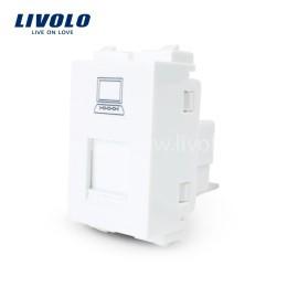 Hạt ổ cắm dây mạng LAN Livolo