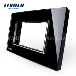 Phụ kiện mặt nắp màu đen Livolo