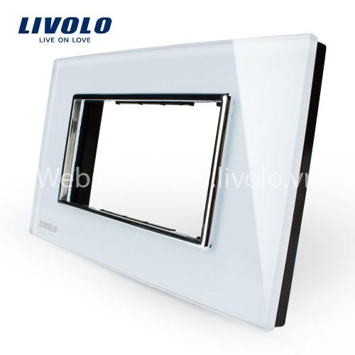 Phụ kiện mặt nắp màu trắng Livolo