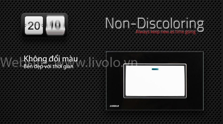 Công tắc 1 phím bấm cơ Livolo màu đen